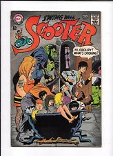 SWING WITH SCOOTER #9 ==> FN- MONSTERS & BONDAGE COVER DC COMICS 1967