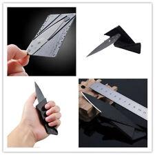 Outdoor Useful Tool Pocket Knife Steel Credit Card Knife Portable Wallet Knife