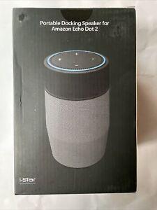 portable docking speaker for amazon echo dot 2