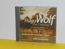 CD - NETHERLANDS CHAMBER CHOIR - HUGO WOLF - THE CHORUSES