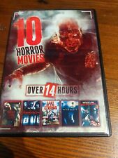 10 Horror Movies Night Of The living Dead, Invisible, Mother's Day Massacre,.