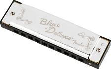 Genuine Fender Blues Deluxe Harmonica ~ Key Of C ~ with Case