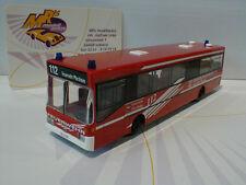 """Rietze 71822 # Mercedes-Benz O405 """" Feuerwehr Pforzheim 112 """" in rot-weiß 1:87"""