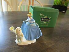 """Snowbabies Dept 56 """"Dancing Near Midnight"""" Cinderella Disney Showcase Figurine"""