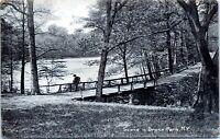 Scene in Bronx Park Rotograph D 110B New York City Undivided 1905 Postcard