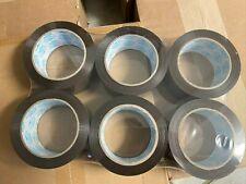 """6 Rolls Premium Brown Carton Box Sealing Packing Tape 2 Mil Thick 2""""x110 yard"""