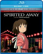 Spirited Away Blu-ray + Dvd 2017 Brand New Fast Shipping