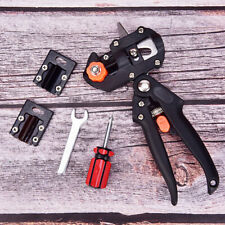 Nursery Garden Tree Grafting Pruning Pruner Shears Cutting Tool Kit w/ Film Tape