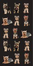 Yorkie Towel Yorkshire Terrier Dog Lover Puppies Cute Beach Pool Souvenir 30x60
