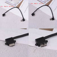 Left/Right angled 90 degree usb 3.0 A male to micro B male 90 degree cable MW