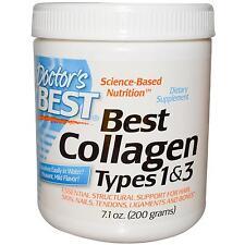 I tipi di collagene 1 & 3 - 200g in polvere dai medici migliore sostegno strutturale essenziale