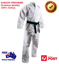 KARATE UNIFORM MARTIAL ARTS PREMIUM QUALITY GI 10 oz 100% COTTON