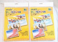 40 pcs A4  CN-JET (8.3 in x 11. in) Glossy inkjet photo paper for HP Canon Epson