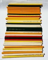 Lot of 36 Vintage Dixon Best Colored Pencils Yellow White Green Red