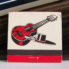 Rare Vintage Matchbook L1 Washington DC El Tio Pepe Spanish Restaurant Guitar