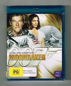 Moonraker Blu-ray Roger Moore - Brand New & Sealed