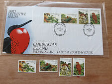 Christmas Is  1983  Bird Definitive Series MNH stamps + FDC