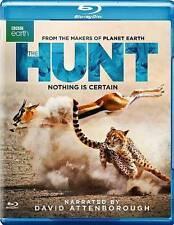 The Hunt Blu-ray 2-Disc Set 2016 David Attenborough BBC Earth Predator Prey NEW