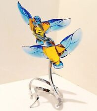 "SWAROVSKI  "" KINGFISHERS ""  #5136835   BIRD OF PARADISE , BEAUTIFUL AND SPECIAL"