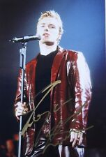 Hand signed mounted photo of Ronan Keating 11 x 7.4 inches by Mel Longhurst