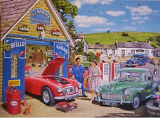 Austin Healey 3000 Morris Minor Sports Car Mechanic Fathers Day Birthday Card