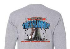 T-shirt Shirt Long Sleeve Hound Dog Hunt Coon Hunting Slammin Plott Coonhound