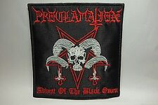 proclamation advent of the black omen     EMBROIDERED  PATCH