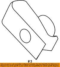 Ford Oem Side Marker Lamps-Front-Side Marker Lamp Nut W706735S439