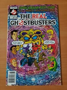 Real Ghostbusters #1 Newsstand Edition ~ NEAR MINT NM ~ 1991 Now Comics