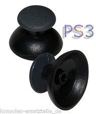 2 x Kappe für PS3 Wireless Controller Joystick Hut Knopf Stick - schwarz * NEU