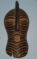 Ethnie SONGYE Congo ancien masque masculin