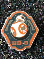 Disney TRADING PINS BB-8 STAR WARS Rise of the resistance DISNEYLAND world