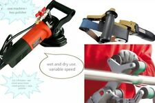 Pipe Tube Polisher 100 Zironcia Belt for Tig Plasma Arc Welds rust stains remove