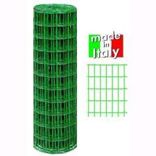 Rete Recinzione Elettrosaldata T/Italia 75X60 Plastic Mt.10 H.Cm. 120