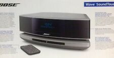 NEW Bose Wave SoundTouch Music System IV Platinum Silver NIB w/receipt