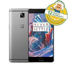 "Oneplus 3T One Plus ThreeT Dual Sim 4G LTE 5.5"" 6GB RAM 128GB Smartphone GRADE A"