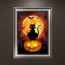 5D Diamond Halloween Painting DIY Embroidery Cross Stitch Home Decor Crafts