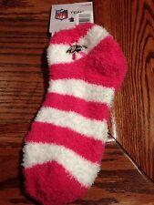 Baltimore Ravens NFL Pink Fuzzy Slipper Socks - Size Medium, NWT