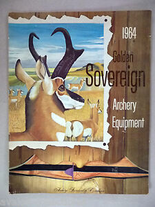 Golden Sovereign Archery CATALOG - 1964