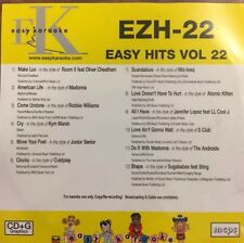Easy Karaoke Hits Series - EZH-22, Ft Hits By Coldplay, Madonna, S Club And More