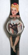 Swatch Watch-1995-Lolita-GM128-New and Never Worn-Original Box and Instructions