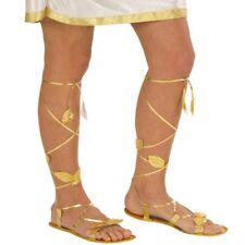 Römersandalen Damen Antike Sandalen Römer gold Römerin Schuhe Griechin Kostüm