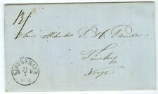 DENMARK: Copenhagen, Cover to Tönsberg, Norway 1864.
