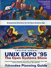 ITHistory (1995)  Show Guide: UNIX EXPO (The Open Systems Show)