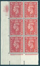 1D RED CILINDRO controllo M 43 80 DOT Unmounted MINT