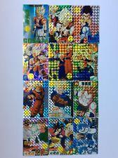 Dragon Ball Z Prism Goku Gohan Sticker Card Set of 50 - Anime Animation Lot