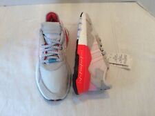 Adidas sneakers Nite Joggers Woman's Sz 7, M Sz 6 Red Highlights, Reflective