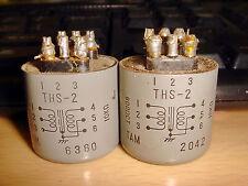 2 X TAMURA THS-2 600 OHM CT : 10K OHM INPUT TRANSFORMER