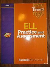 Macmillan McGraw Hill Treasures Grade 3 ELL Practice and Assessment