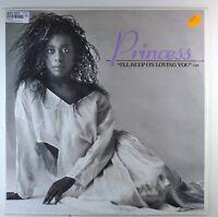"12"" Maxi - Princess - I'll Keep On Loving You - F168 - cleaned"